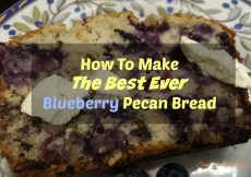 How To Make The Best Blueberry Pecan Loaf Ever! - Sassy Townhouse Living