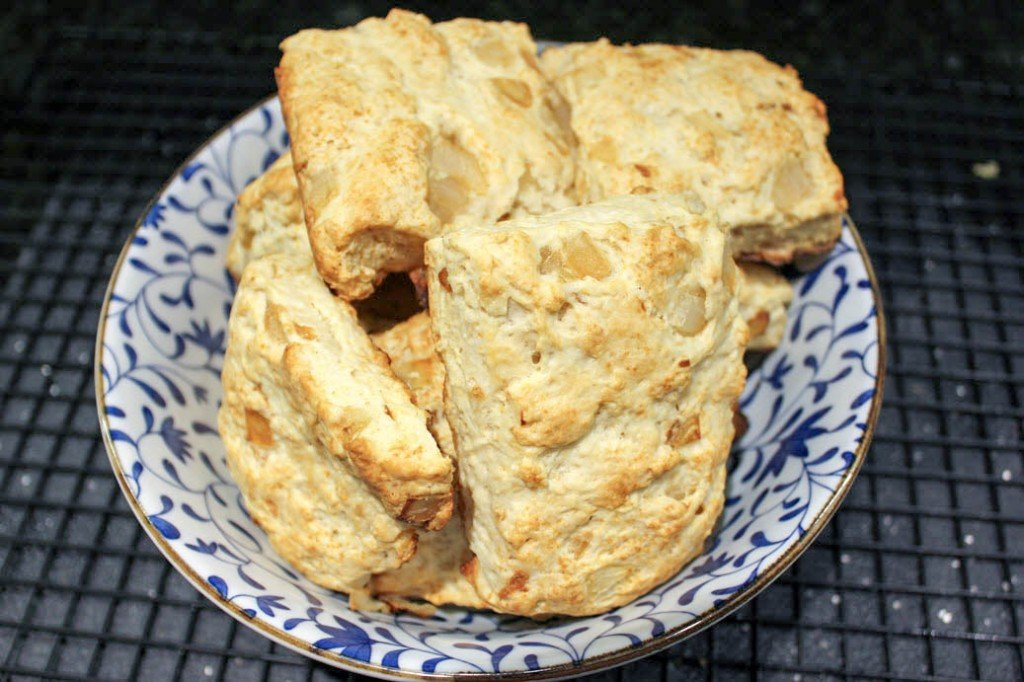 Caramelized Onion Biscuits Recipe