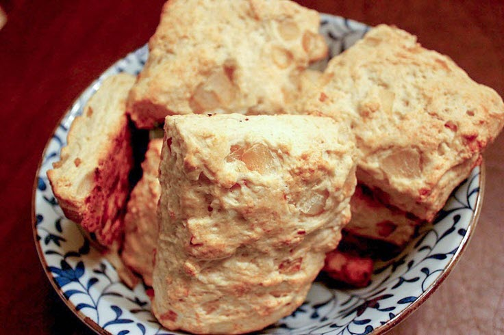 Caramelized Onion Biscuits Recipe!