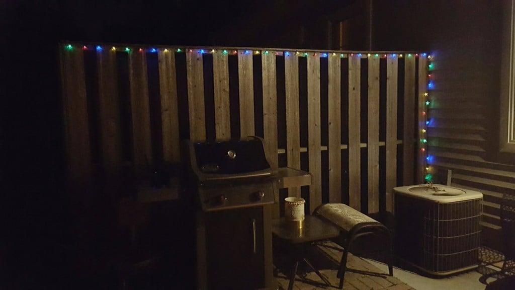 backyard lights solar powered