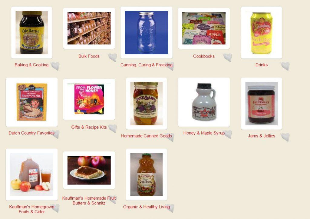 kauffmans fruit farm products