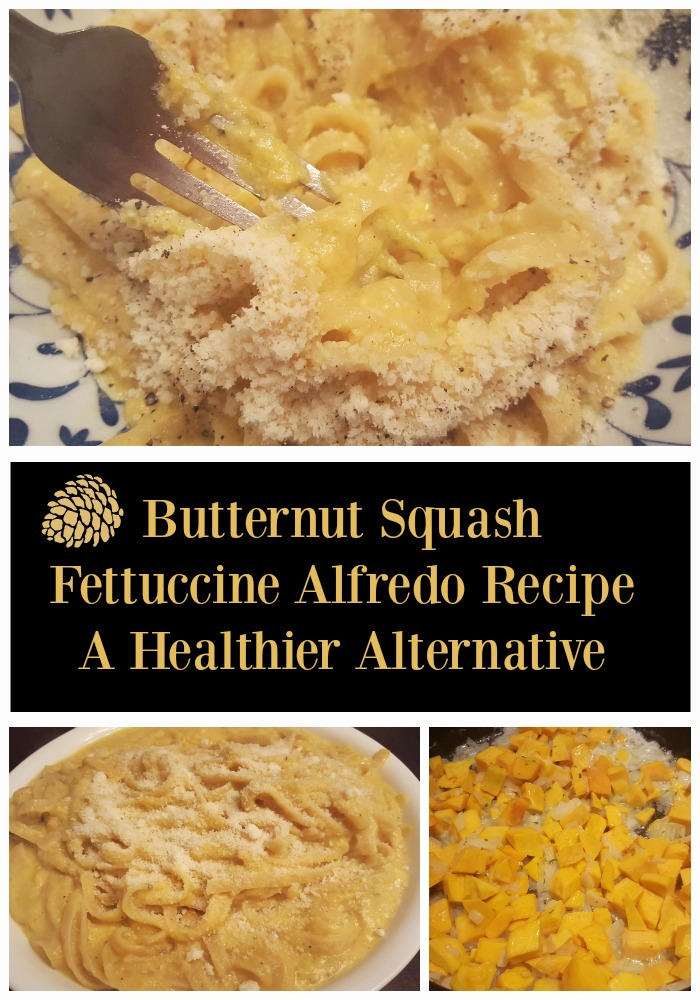 Butternut Squash Fettuccine Alfredo Recipe - A Healthier Alternative - Sassy Townhouse Living