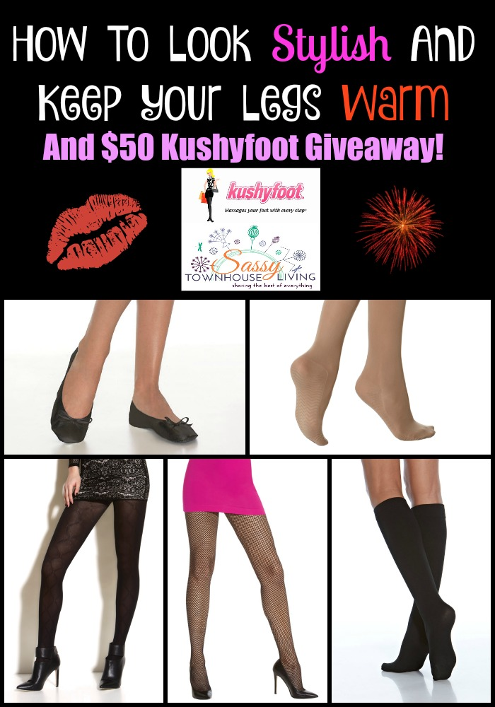 How To Look Stylish And Keep Your Legs Warm - And Giveaway! Sassy Townhouse Living