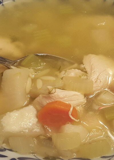 How To Make The Best Homemade Chicken Soup Recipe_Sassy Townhouse Living