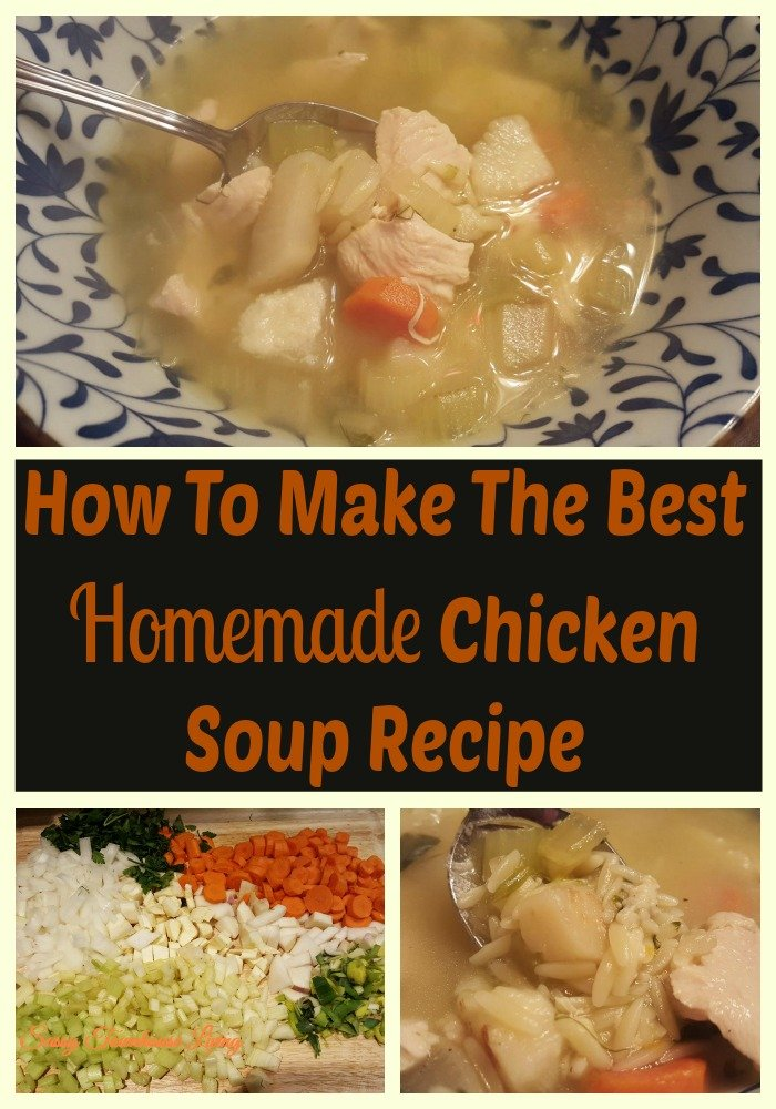 How To Make The Best Homemade Chicken Soup Recipe - Sassy Townhouse Living
