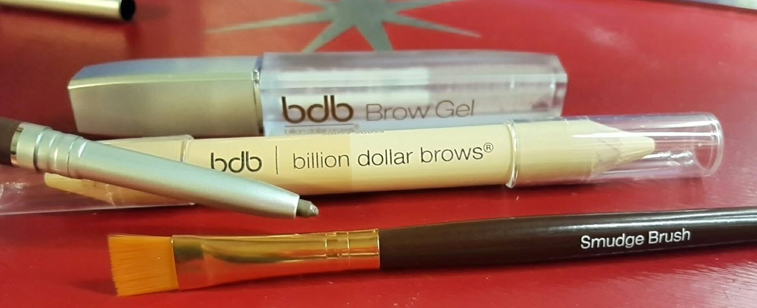 "Transform your brows with these essential brow products Kit Includes: Universal Brow Pencil: Formulated to work beautifully with most skin tones and hair colors, this amazing eyebrow pencil goes on smooth and natural. Plus, the Universal Brow Pencil is automatic—it never needs sharpening and it comes complete with a spoolie brush on the opposite end for effortless blending and a perfect finish. Brow Duo Pencil: Highlights your brow bone to add gorgeous definition and warmth while providing instant visual ""lift."" Our highlighter works with every skin tone. Plus, for on-the-go touchups, we added a handy universal concealer on the opposite end of the pencil. It's effortless flawlessness! Brow Gel: Our clear brow gel locks in your look, giving your eyebrows a long-lasting, radiant glow while keeping them perfectly in place all day. Smudge Brush: This flat, synthetic brush is the ideal mate for applying creamy cosmetics like our Brow Duo Pencil."