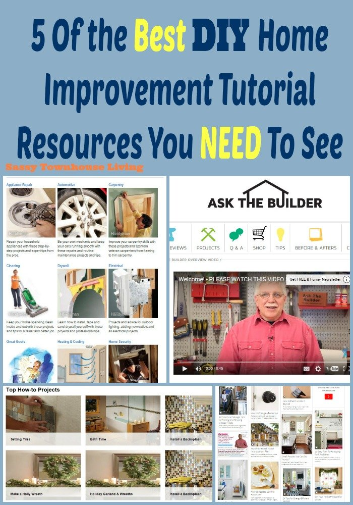 5 Of The Best Diy Home Improvement Tutorial Resources You