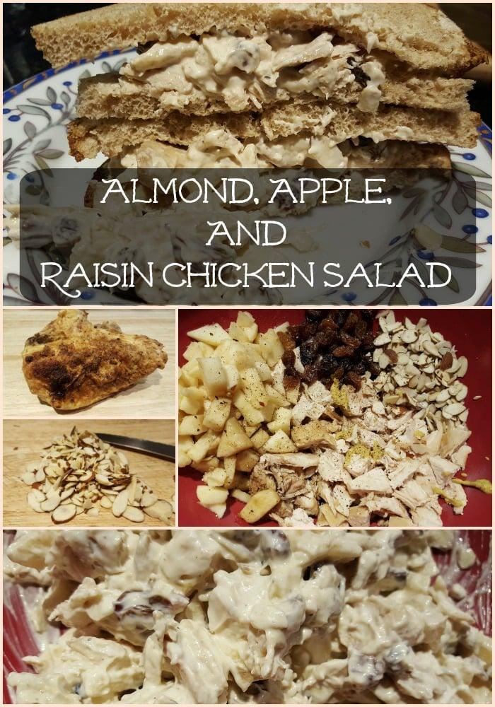 Almond, Apple, And Raisin Chicken Salad - Sassy Townhouse Living