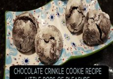 Chocolate Crinkle Cookie Recipe-Sassy Townhouse Living