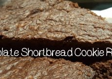 Chocolate Shortbread Cookie Recipe-Sassy Townhouse Living
