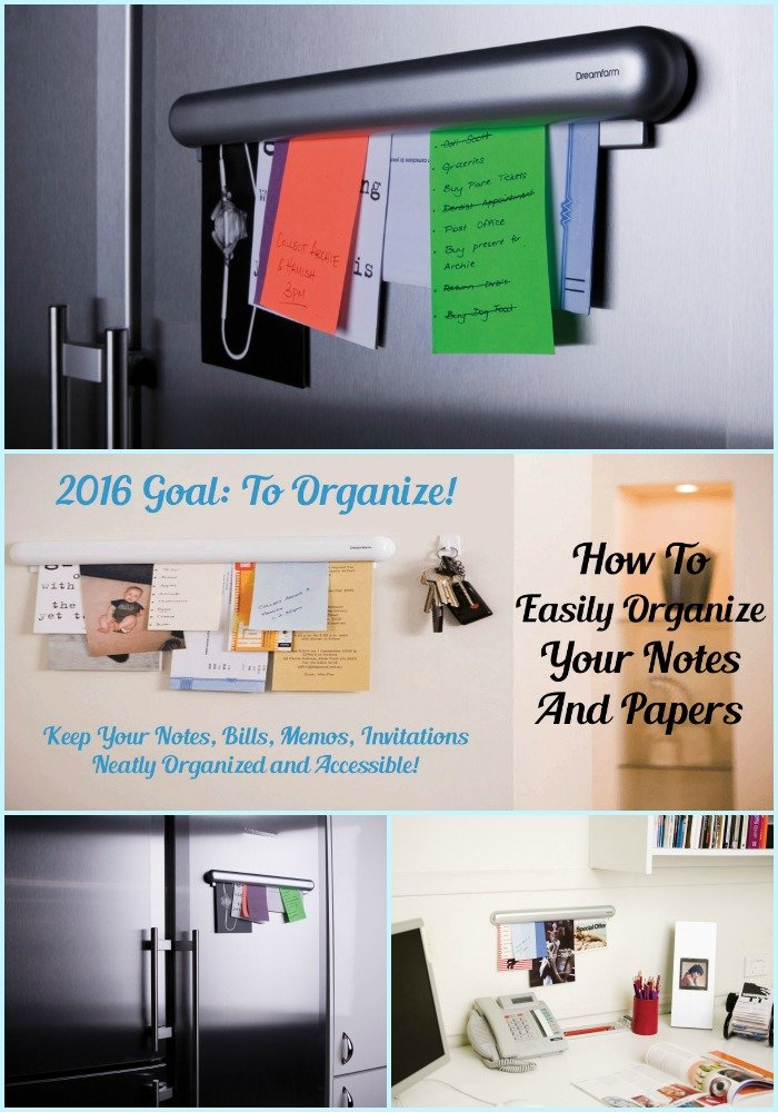 How To Easily Organize Your Notes And Papers-Sassy Townhouse Livingj