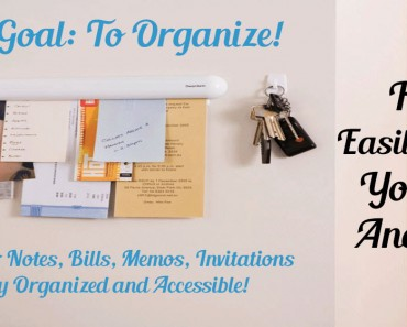How To Easily Organize Your Notes And Papers._Sassy Townhouse Livingj