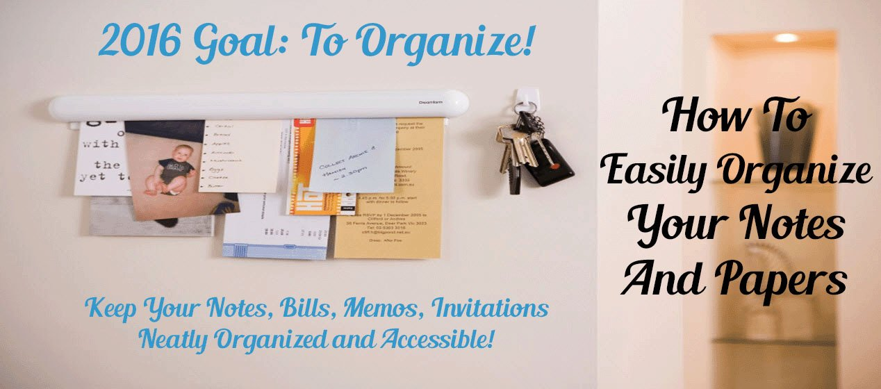 How To Easily Organize Your Notes And Papers