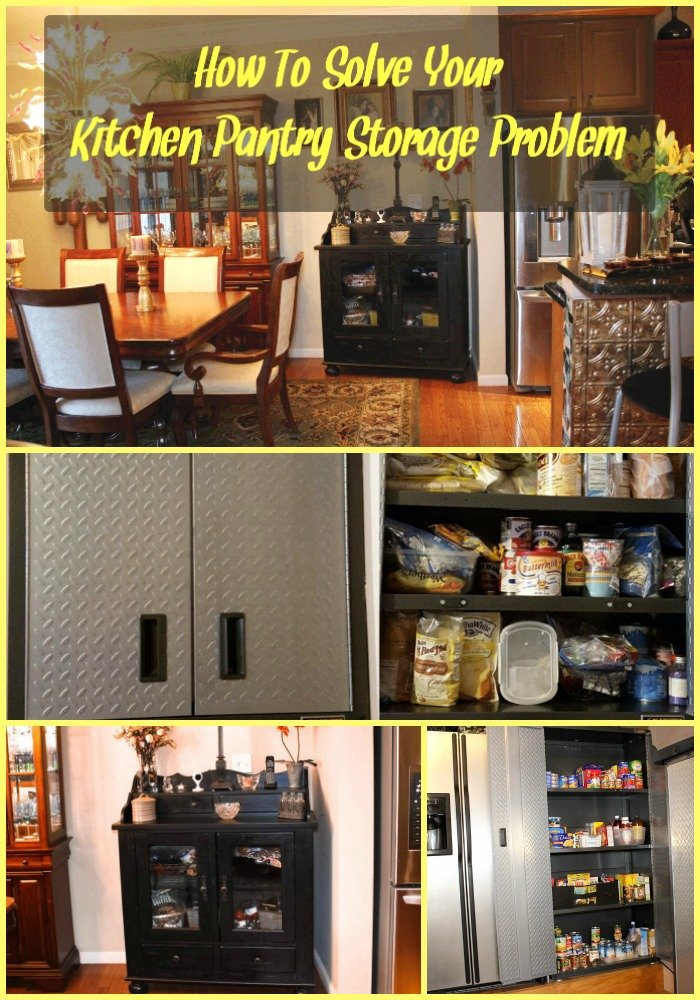 How To Solve Your Kitchen Pantry Storage Problem_Sassy Townhouse Liviing