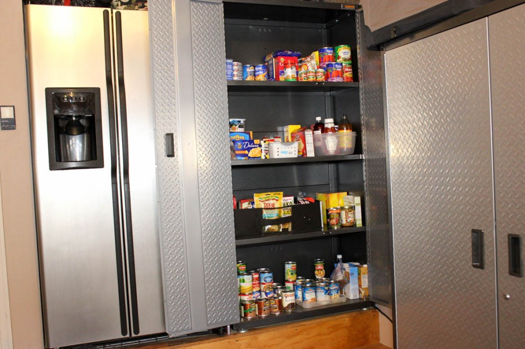 No Kitchen Pantry Space? Here's The Perfect Solution