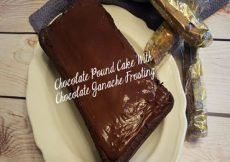Chocolate Pound Cake With Chocolate Ganache Frosting-Featured Sassy Townhouse Living