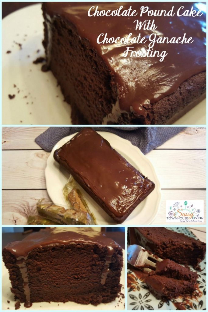 Chocolate Pound Cake With Chocolate Ganache Frosting_Sassy Townhouse Living