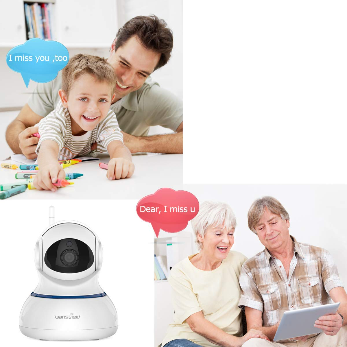 WiFi Wireless Security Camera
