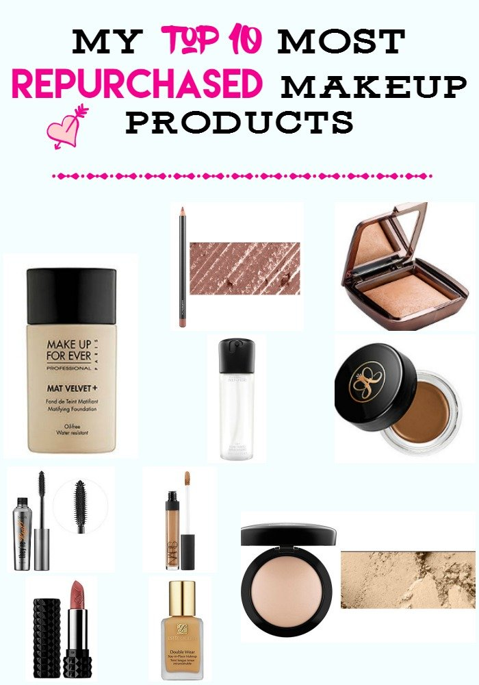 My Top 10 Most Repurchased Makeup Products - Sassy Townhouse Living
