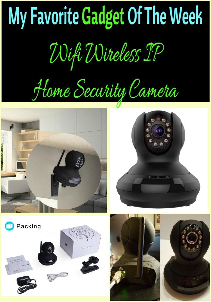 Wifi Wireless IP Camera Home Security Camera_SassyTownhouseLiving