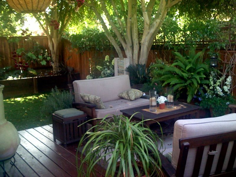 Making the most of a small backyard for Small townhouse garden design ideas