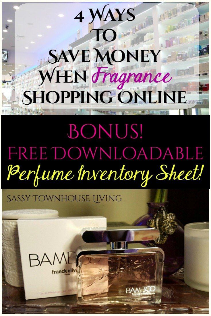 4 Ways To Save Money When Fragrance Shopping Online-Sassy Townhouse Living