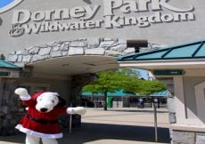 Dorney Park's Christmas In July Event