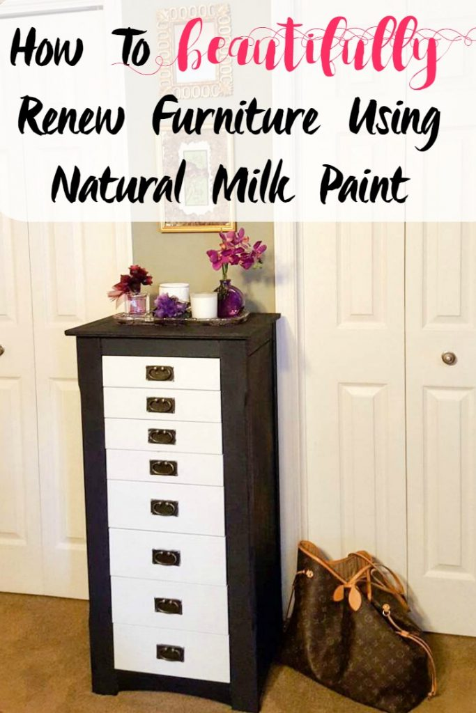 How To Beautifully Renew Furniture Using Natural Milk Paint-Sassy Townhouse Living.com
