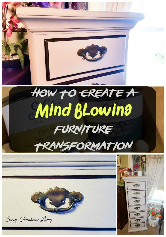 How To Create A Mind Blowing Furniture Transformation - Sassy Townhouse Living