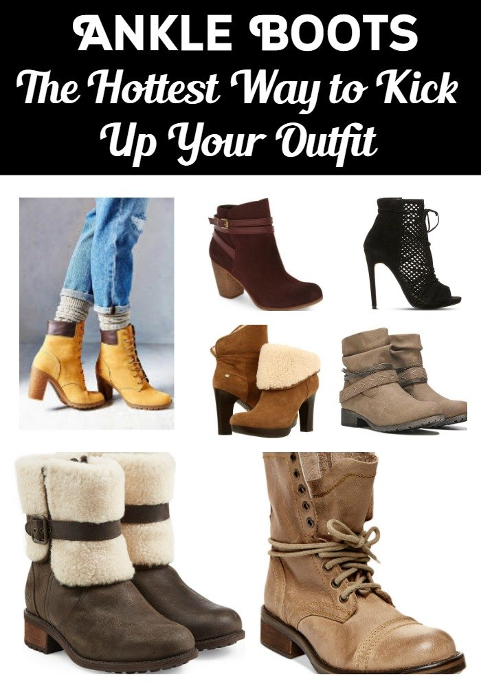 Ankle Boots - The Hottest Way to Kick Up Your Outfit - Sassy Townhouse Living