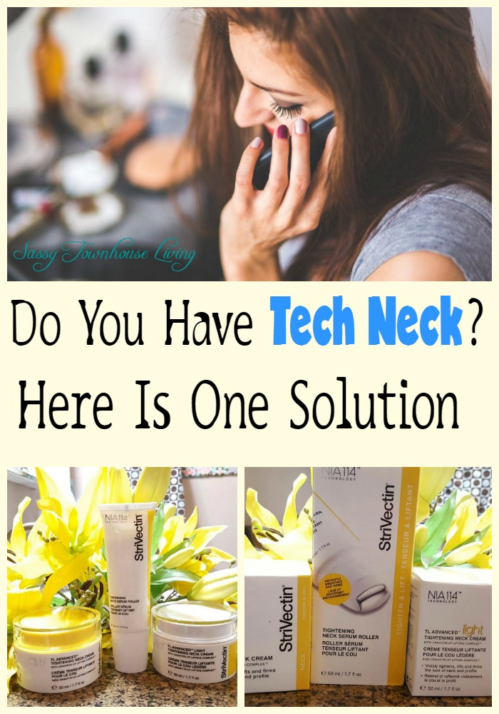 Do You Have Tech Neck Here Is One Solution - Sassy Townhouse Living