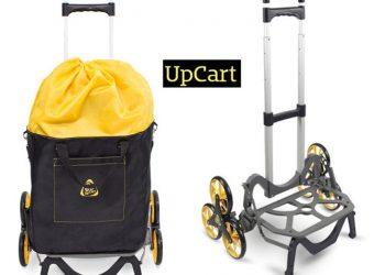 Gadget Of The Week UpCart All-Terrain Stair-Climbing Folding Cart