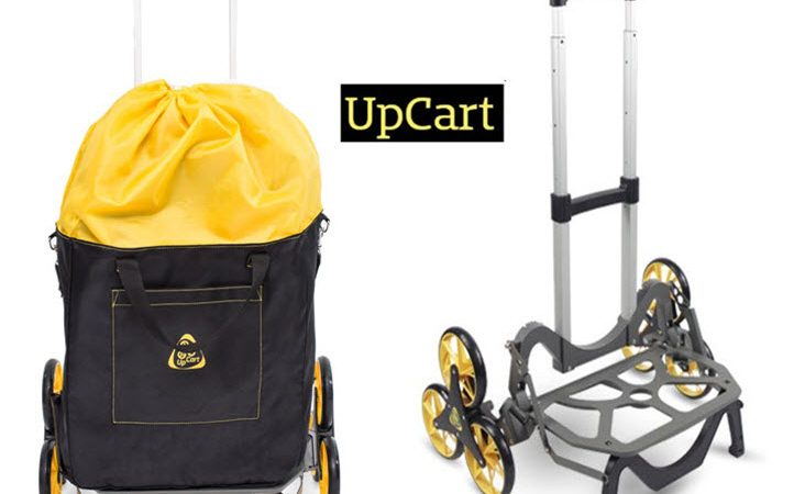 Gadget Of The Week UpCart All-Terrain Stair-Climbing Folding Cart
