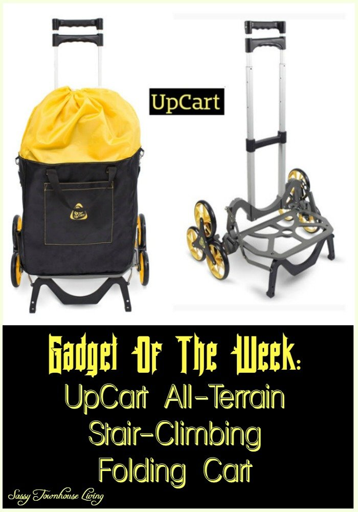 Gadget Of The Week UpCart All-Terrain Stair-Climbing Folding Cart - Sassy Townhouse Living