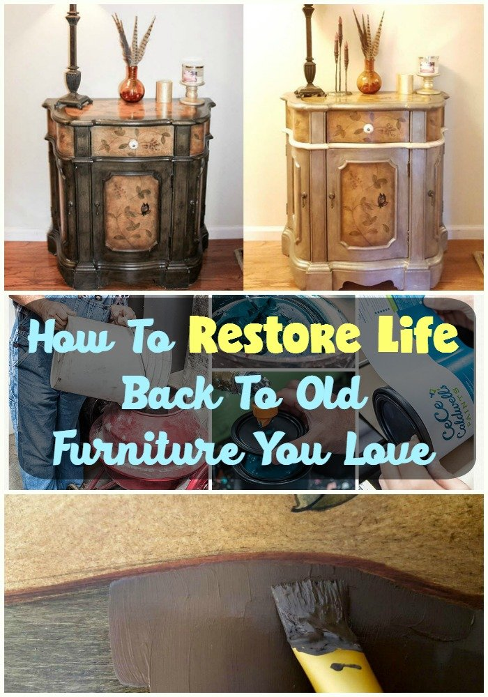 How To Restore Life Back To Old Furniture You Love - Sassy Townhouse Living