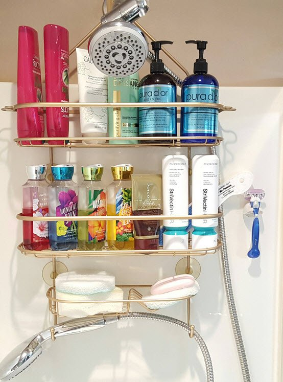 How To Easily Restore Your Rusty Shower Caddy To Brand New