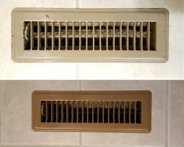 How To Easily Transform Old Floor Vents To Brand New