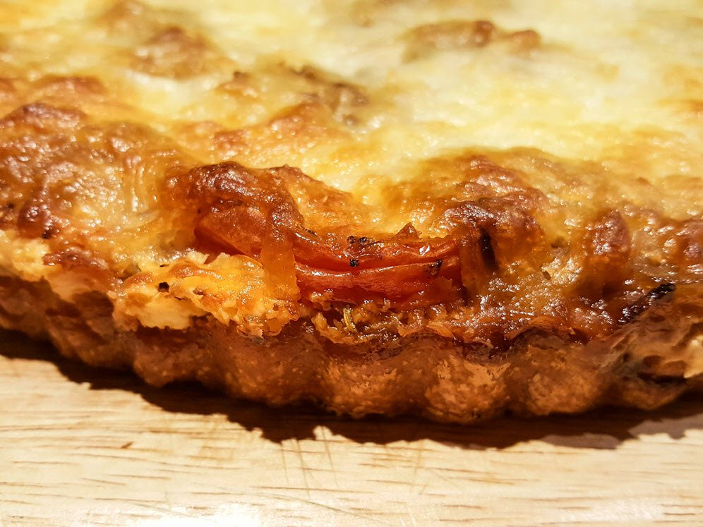 Roasted Tomato Tart Recipe