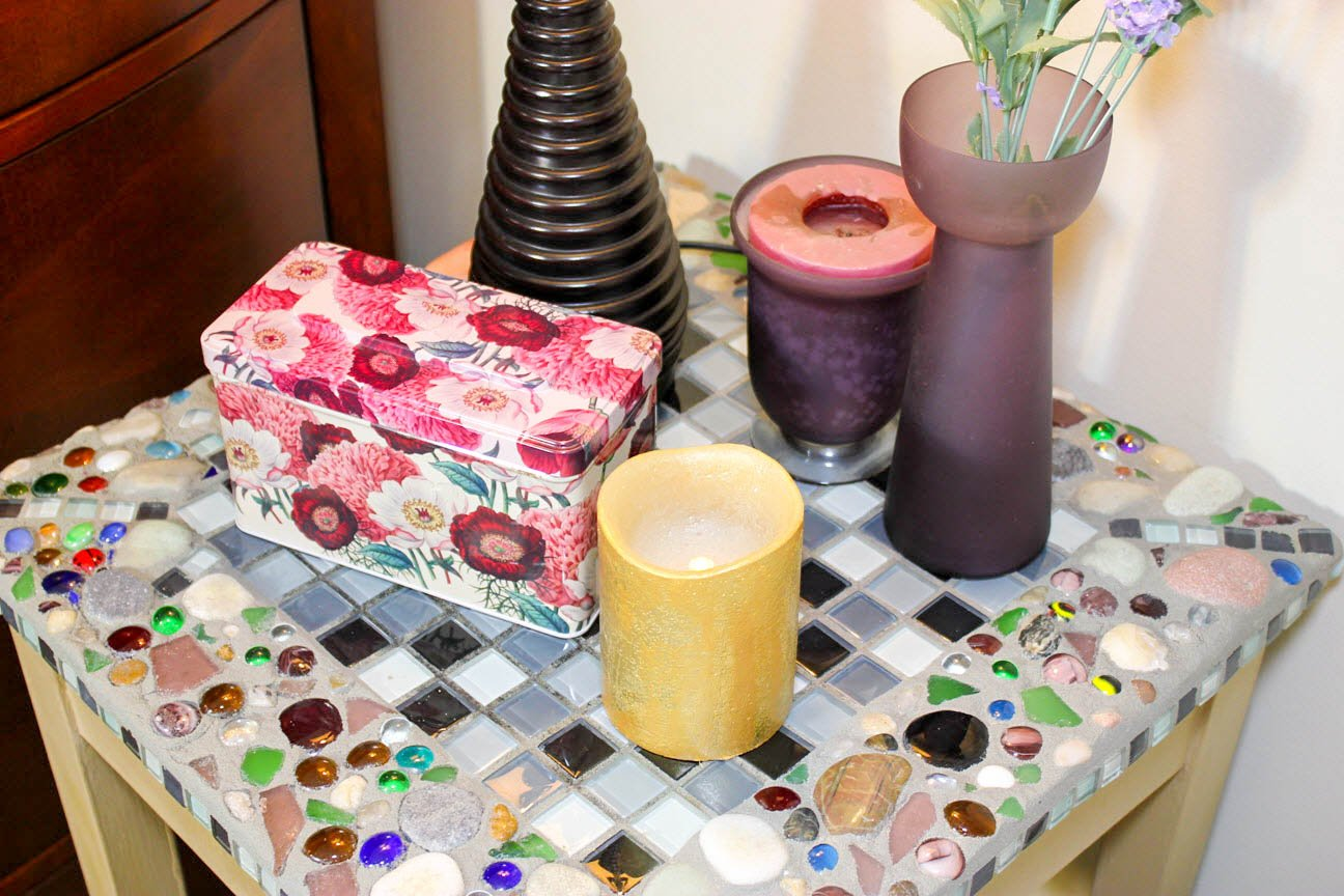 How To Easily Make A Beautiful Mosaic Ceramic Table