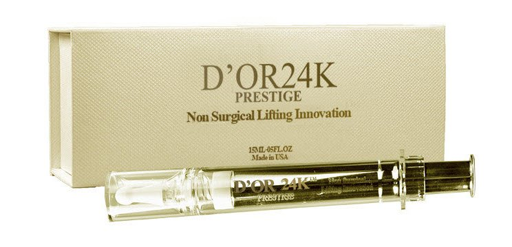 My First Experience Using D'or 24K Non Surgical Lifting Syringe