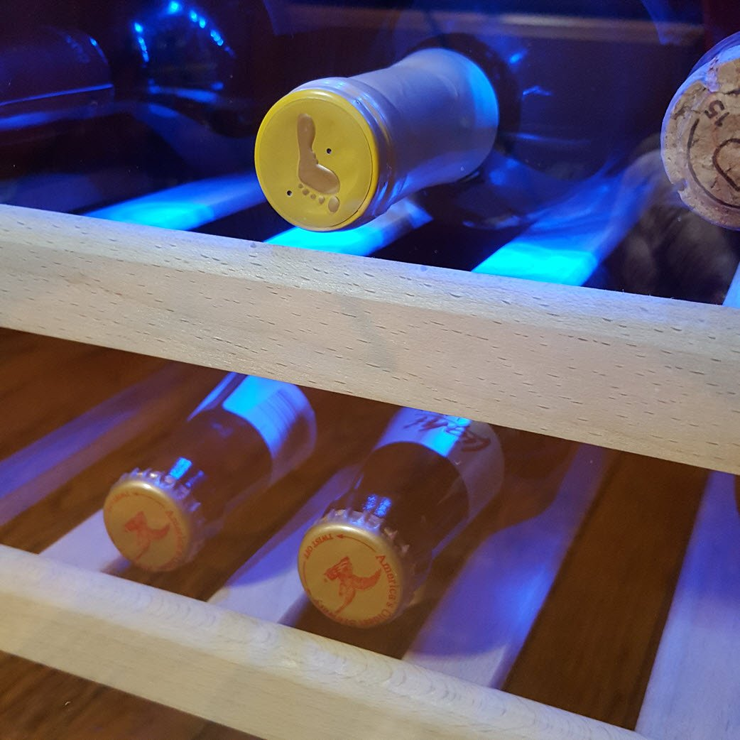 A Chic And Effective Solution For Storing Your Wine