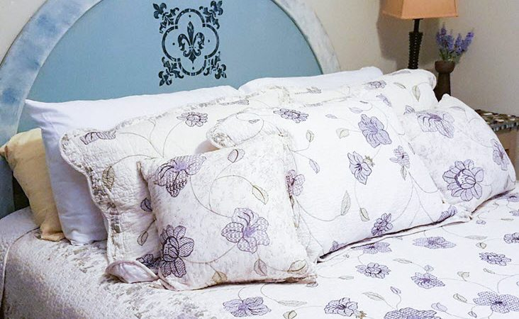 How To Easily Give Your Old Headboard A Dreamy Makeover