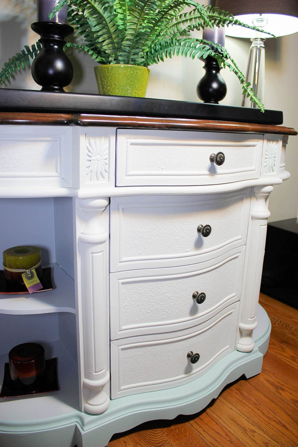 How To Easily Brighten A Dark Piece Of Furniture With Fusion Paint