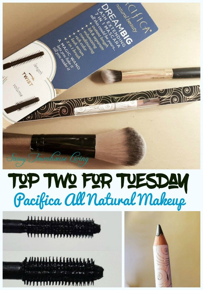 Top Two For Tuesday - Pacifica All Natural Makeup - Sassy Townhouse Living