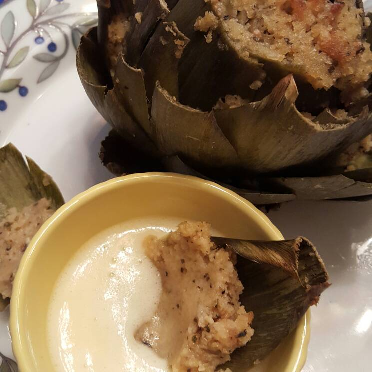 How To Make The Most Delicious Italian Stuffed Artichokes