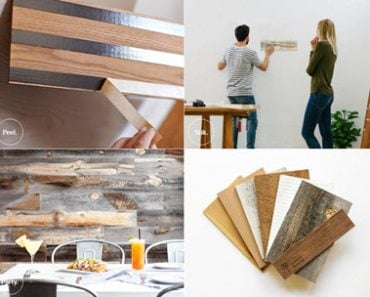 Stikwood - A Stunning DIY Peel and Stik Wood Planking Solution