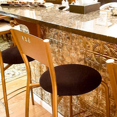 Kitchen Island Bar Stools Transformed With Modern Masters
