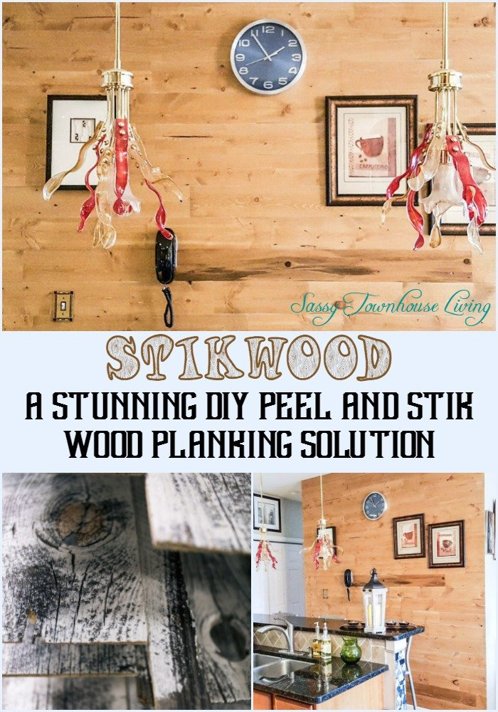 Stikwood – A Stunning DIY Peel and Stik Wood Planking Solution - Sassy Townhouse Living