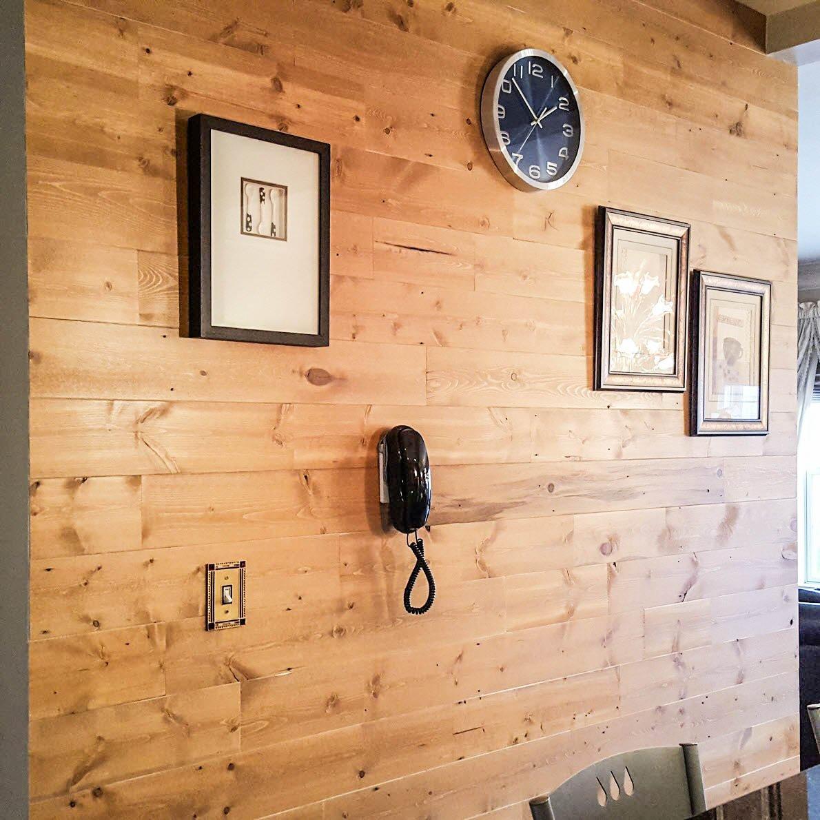 Stikwood - A Stunning DIY Peel and Stik Wood Planking Solution