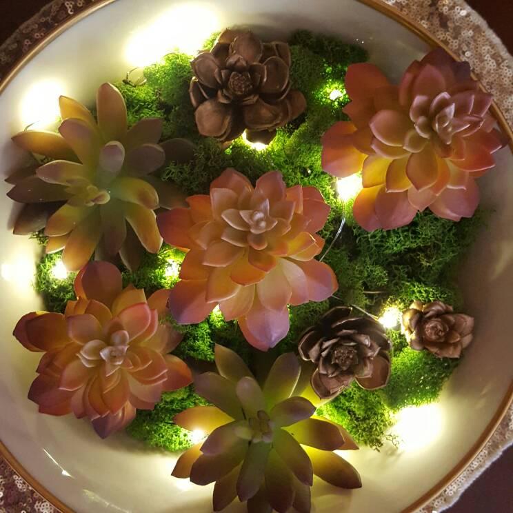 How To Make A Stunning Artificial Succulent Garden Centerpiece